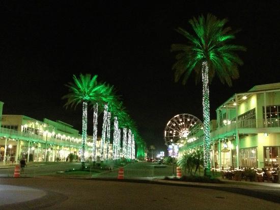 Nightlife at the Wharf