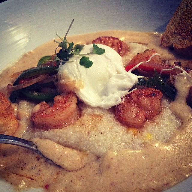 Shrimp and Grits Brick and Spoon Gulf Shores Orange Beach