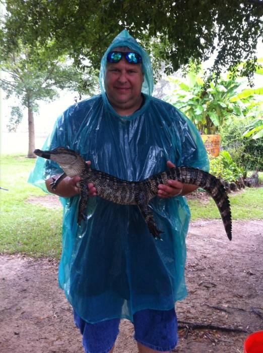 Stephen at Alligator Alley