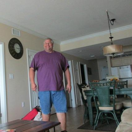 Stephen in our condo