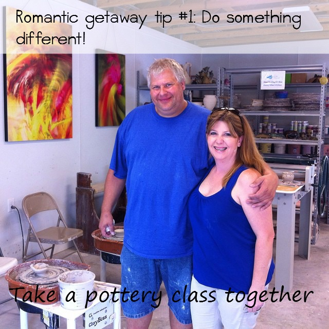 Taking a pottery class in Gulf Shores Alabama- Coastal Arts Center