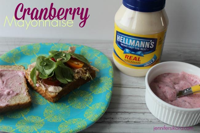 Cranberry Mayonnaise