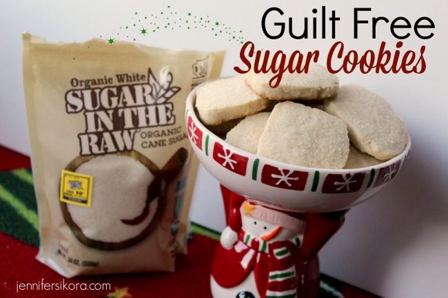 Guilt Free Sugar Cookies