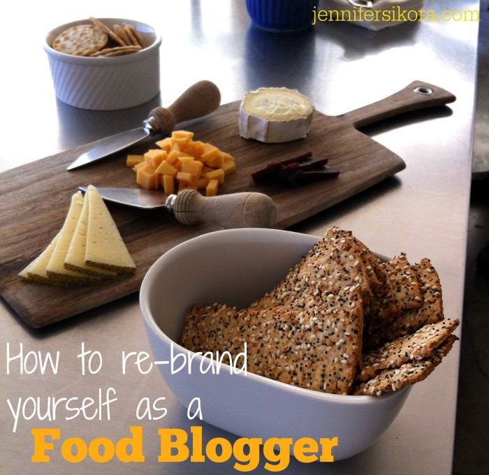 How to re-brand yourself as a food blogger