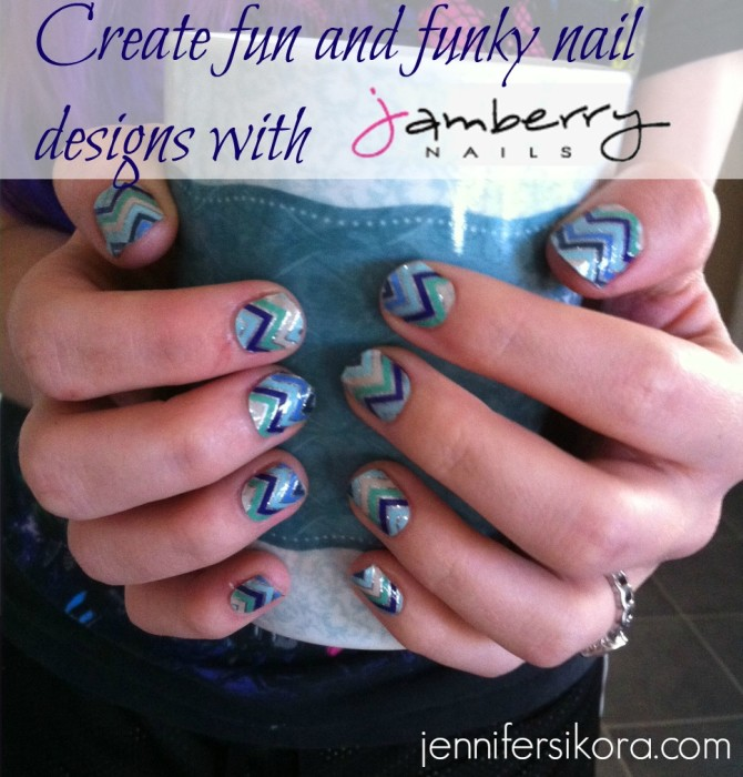 Create Fun and Funky Nail Designs with Jamberry Nails - Jen Around ...