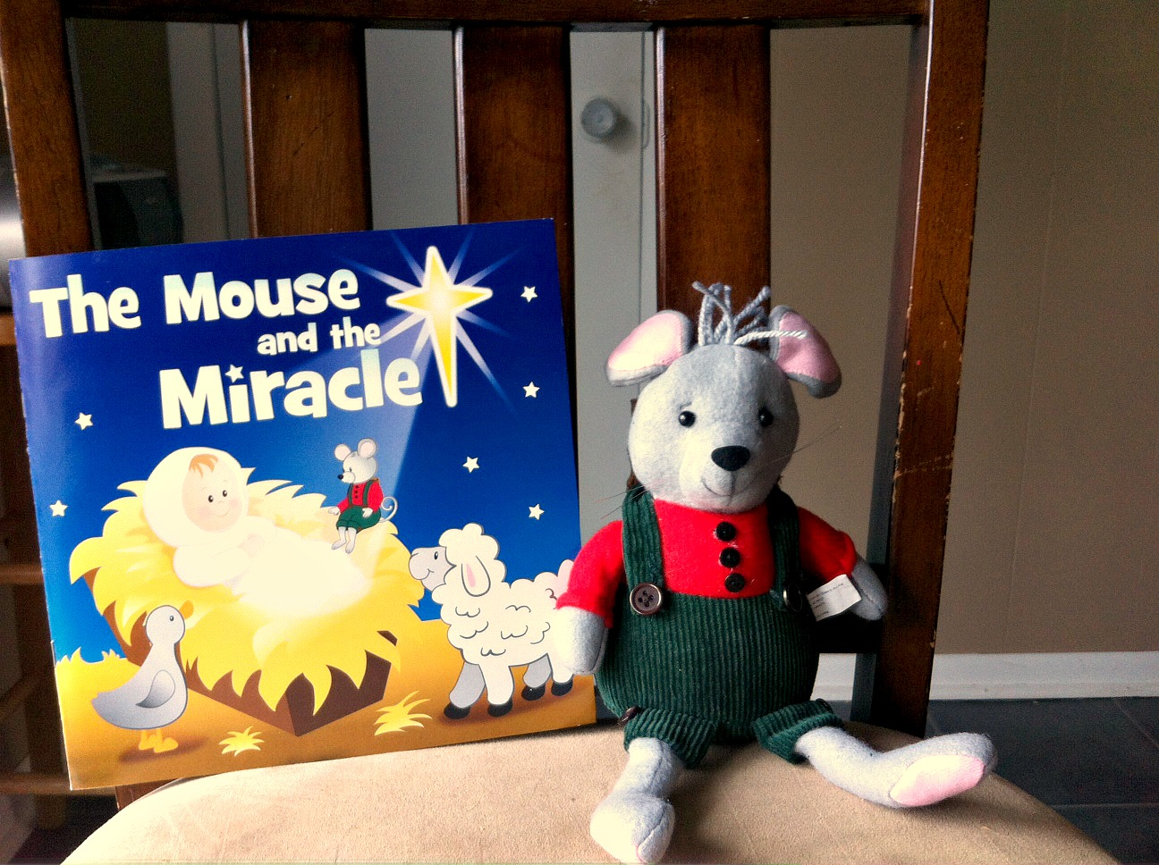 The Mouse and the Miracle from Oriental Trading