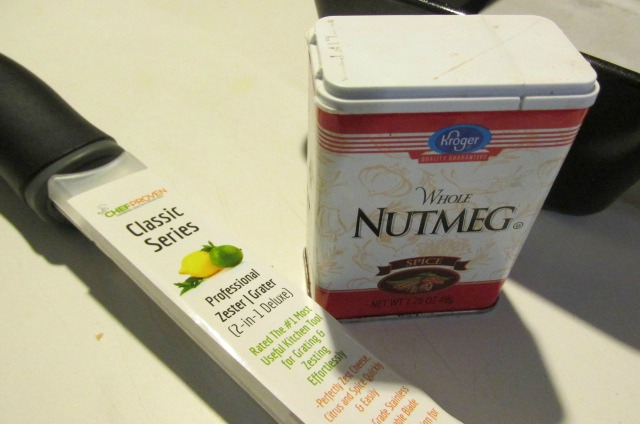 Use a Chef Proven Grater to grate your own nutmeg