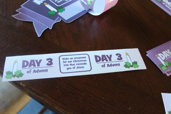 advent countdown chain 2