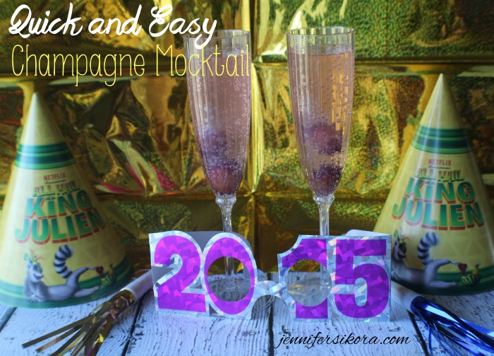 Champagne Mocktail