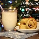 Homemade Cinnamon Rolls featuring Splenda