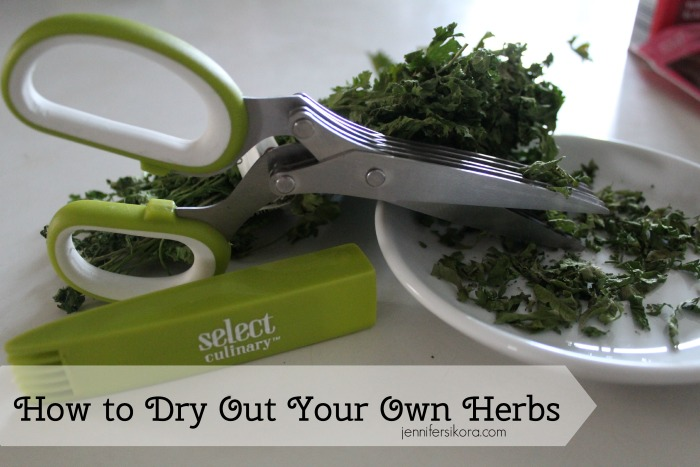 How to Dry Out Your Own Herbs