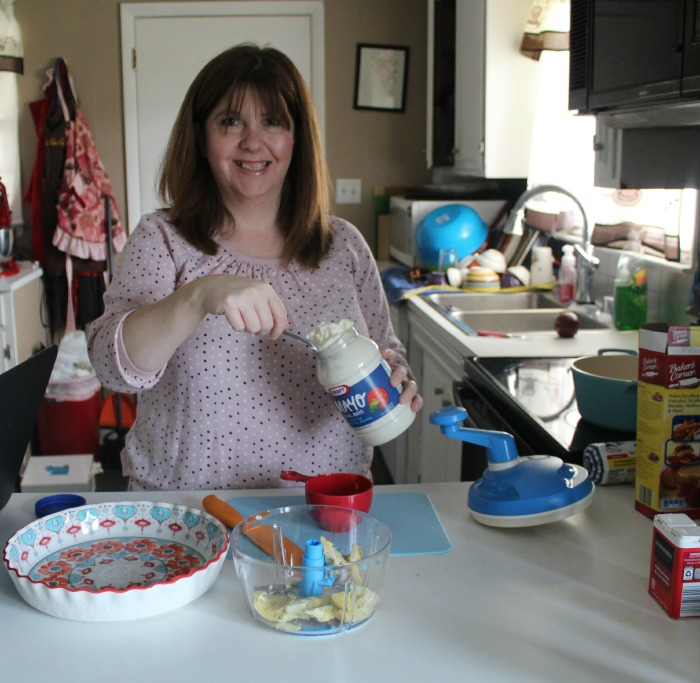 Mayo add to your hot artichoke dip