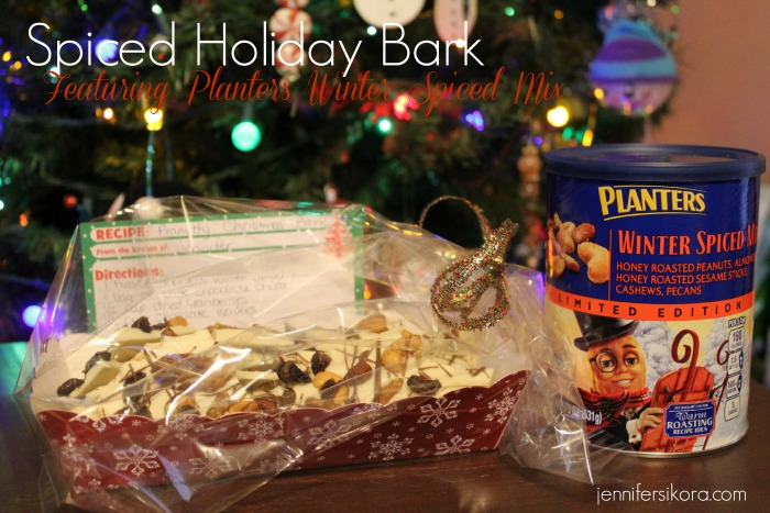 Spiced Holiday Bark #Cbias #GoNutsforNuts