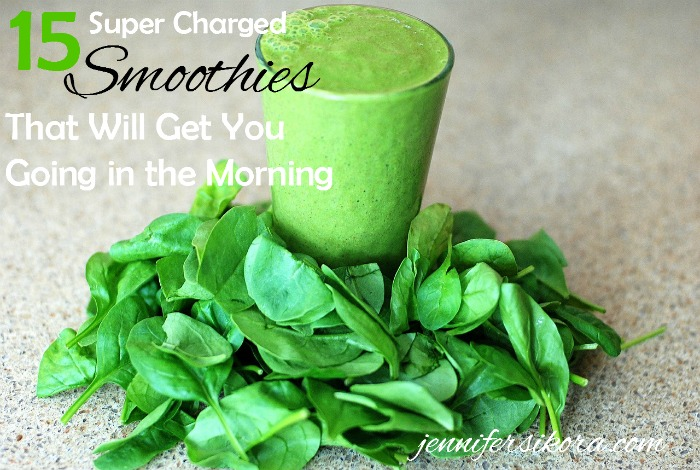 15 super charged smoothies