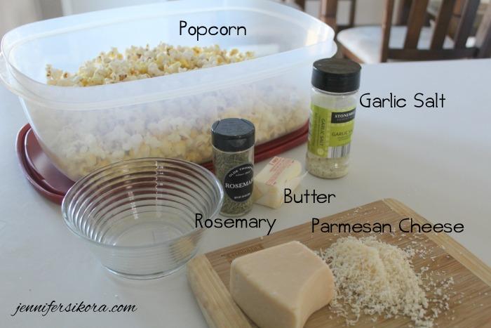 Ingredients Garlic Parmesan Popcorn