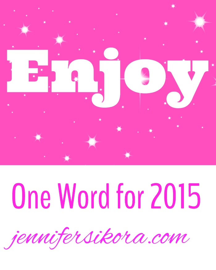 "My ""One Word"" for 2015"