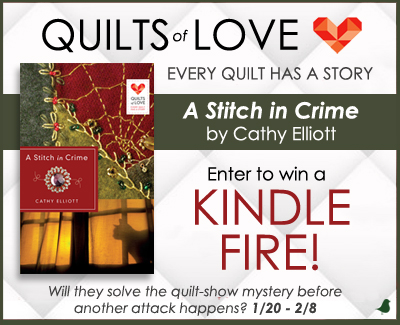 Quilts of Love Stitch in Crime