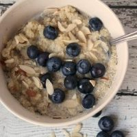 Blueberry Quinoa Breakfast Bowls & The Little Changes Sweepstakes