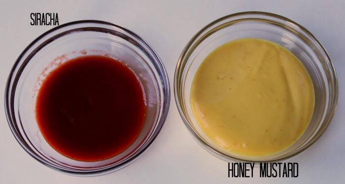 Sweet Heat Dip Ingredients