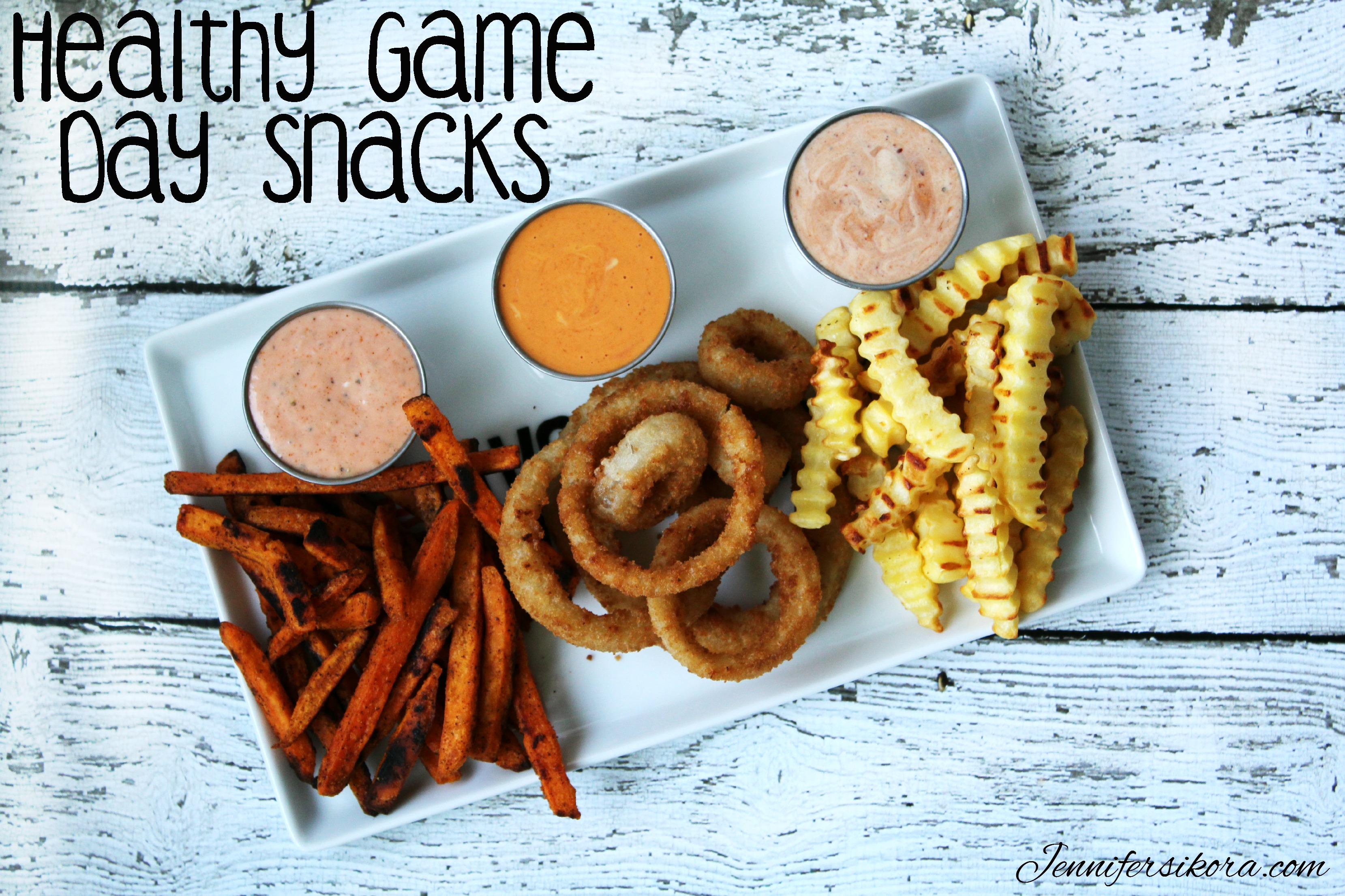 Quick and Easy Game Day Snacks Featuring Alexia Fries and Rings