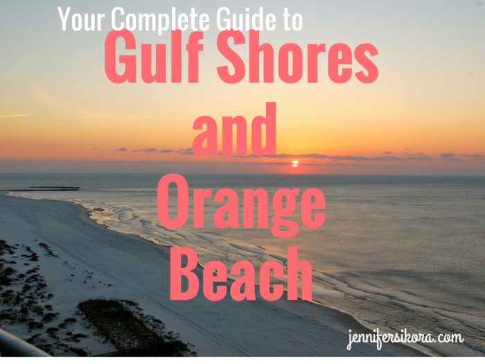 Gulf Shoresand Orange Beach