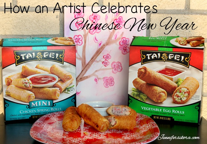How an artist celebrates Chinese New Year