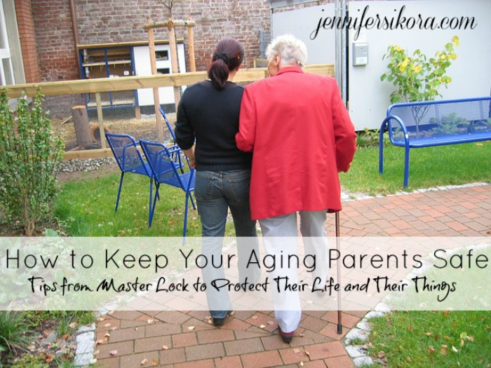 Seniors Need Safety Too – Tips from Master Lock on Protecting Your Things