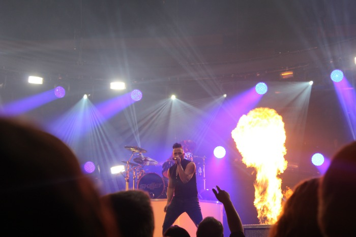 Winter jam 2015 and My Daughter's Dream Come True Night with Skillet