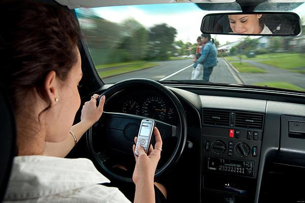 the health risks of using mobile phones while driving