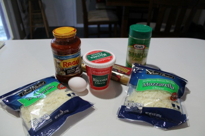 Baked Spaghetti Ingredients