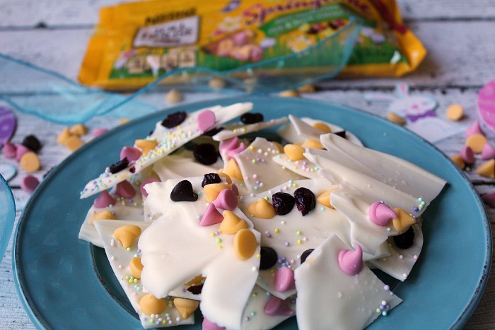 Colorful Easter bark