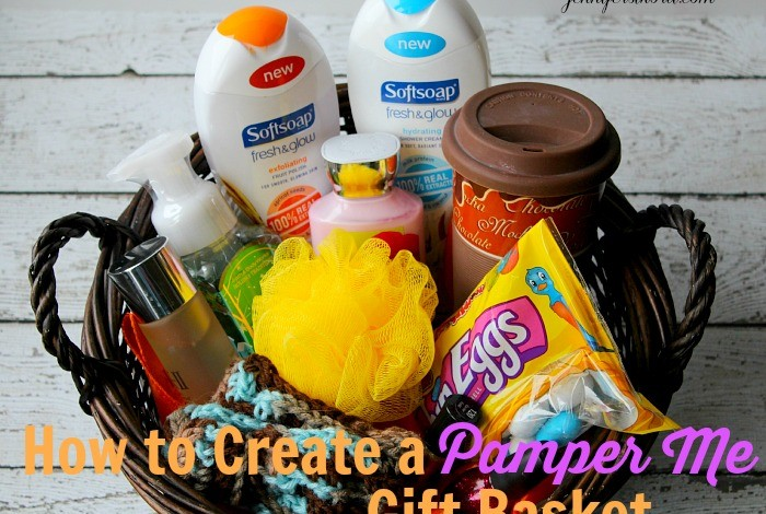 How to create a pamper me gift basket