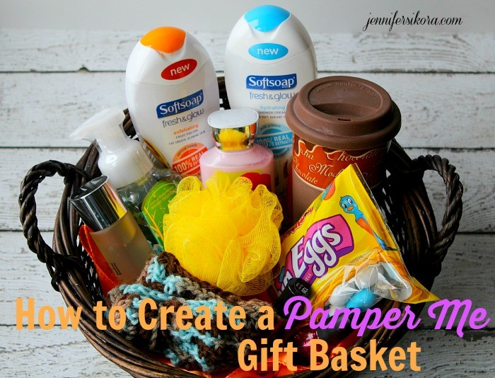 How To Create A Pamper Me Gift Basket Jen Around The World