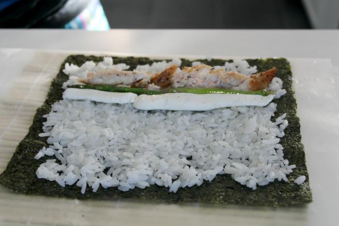 Ingredients for sushi 1