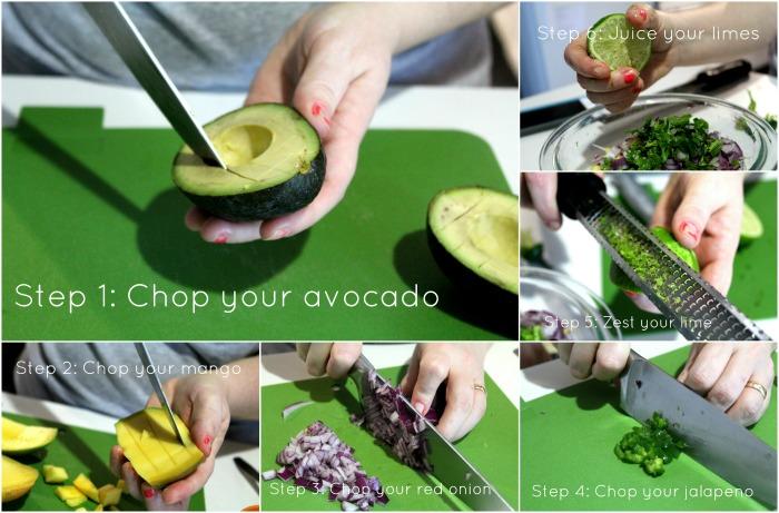 Mango Avocado Salsa Ingredients