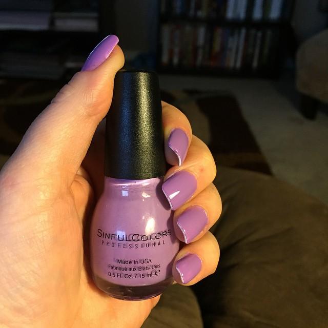 SinfulColors Purple