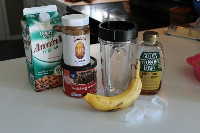 banana mocha ingredients