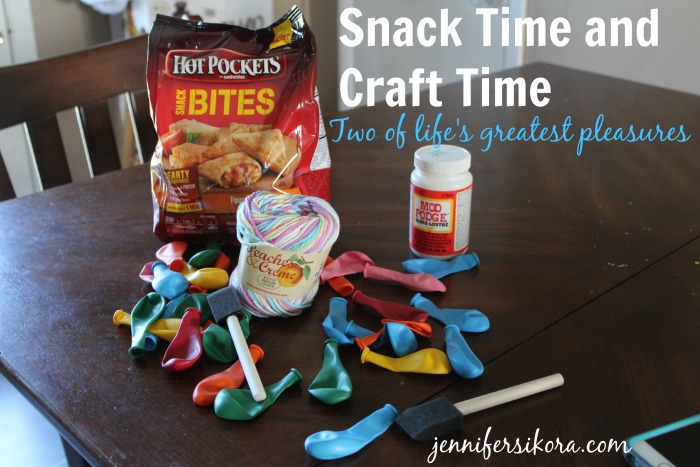 Snack Time and Craft Time Go Hand in Hand