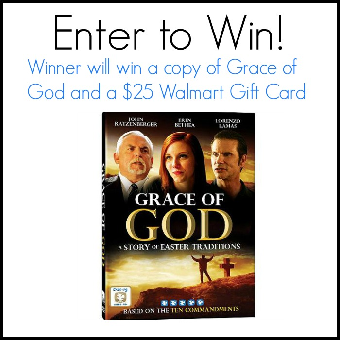 Get the Grace of God DVD from @Walmart for Family Movie Night!  +giveaway