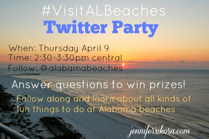 Join Me and a Few Other Bloggers for the #VisitALbeaches Twitter Party, April 9