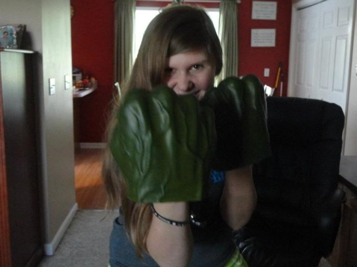 Kayla the hulk
