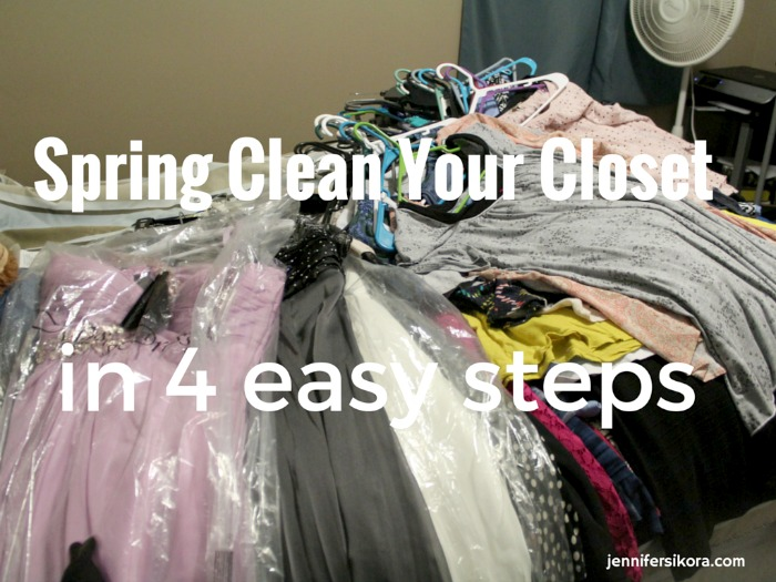 How to Spring Clean Your Closet in 4 Easy Steps