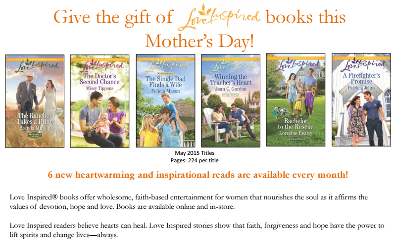 Love Inspired Book Series Review and Giveaway