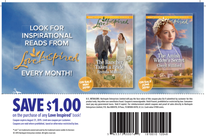 love inspired coupon