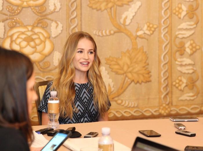 Britt Robertson interview