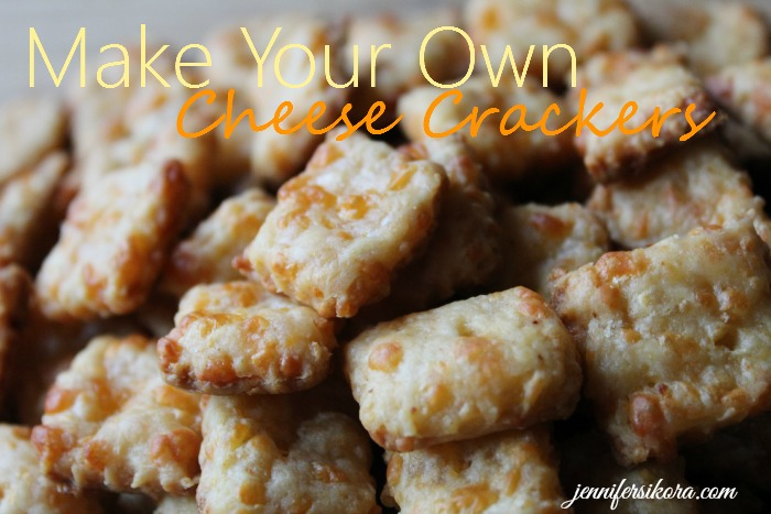 How to Make Your Own Homemade Cheese Crackers
