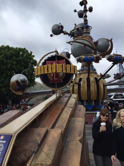 Disneyland Tomorrowland Entrance