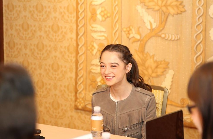 Sitting Down with Raffey Cassidy and Talking Tomorrowland #TomorrowlandEvent