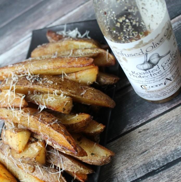 Roasted Potato Wedges 1