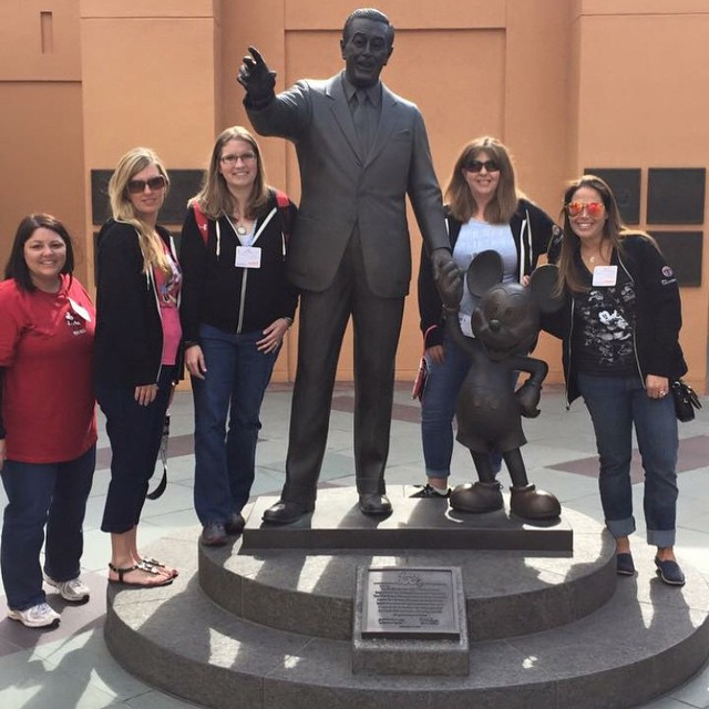 Walt and the girls